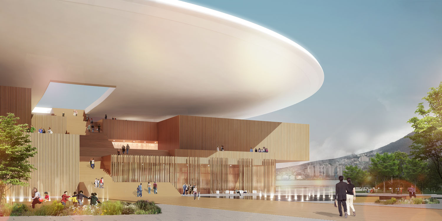 Busan Opera House Henning Larsen Tomoon Architects