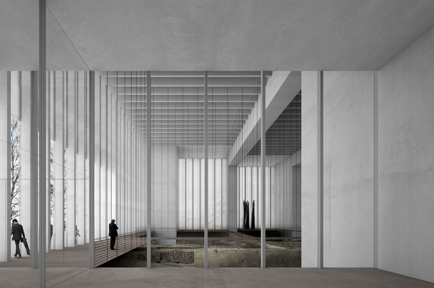 Foyer Des Art : Musée des beaux arts david chipperfield beta