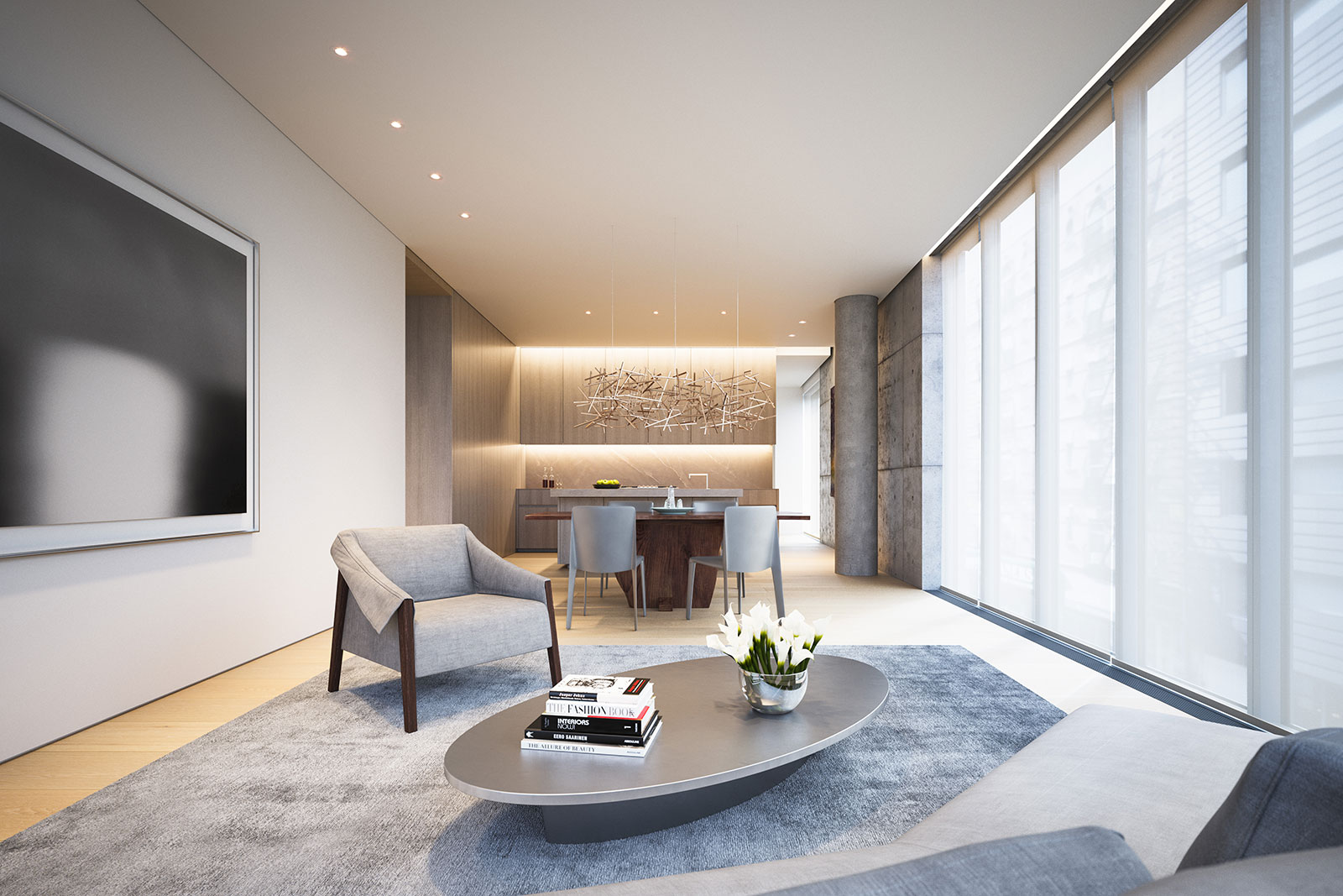 152 elizabeth st tadao ando gabellini sheppard for Best interior decorator nyc