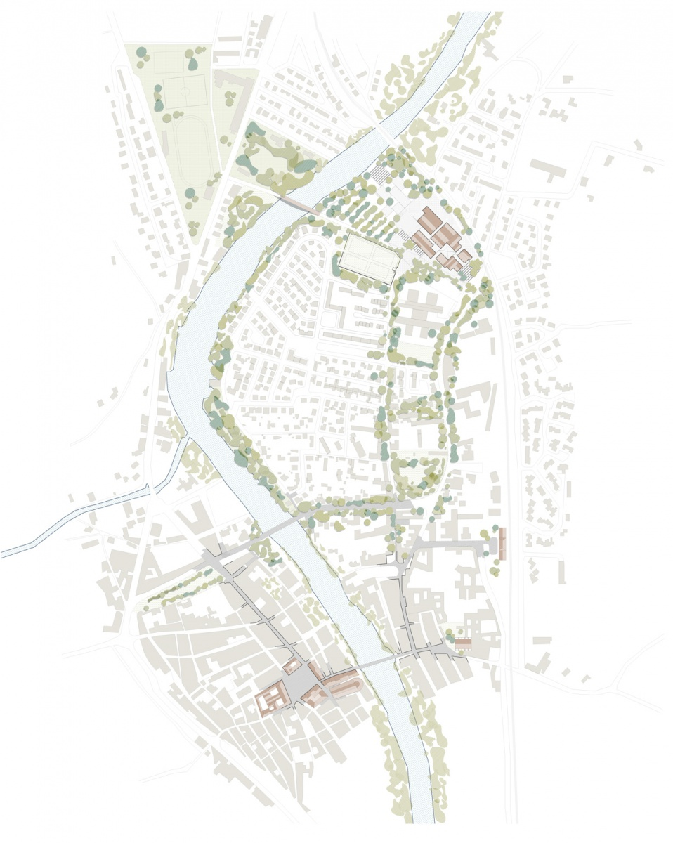 Limoux France Map.Limoux Old Brickyard Reconversion Baas Arquitectura Beta Architecture