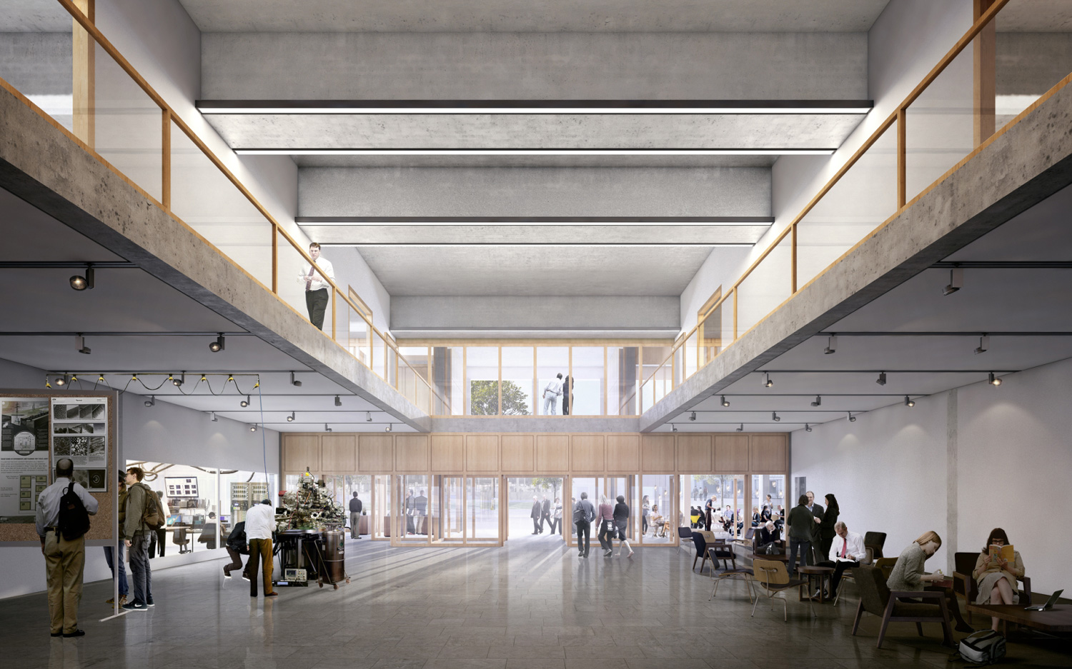 New laboratory and physics building eth z rich em2n beta for Architecture zurich