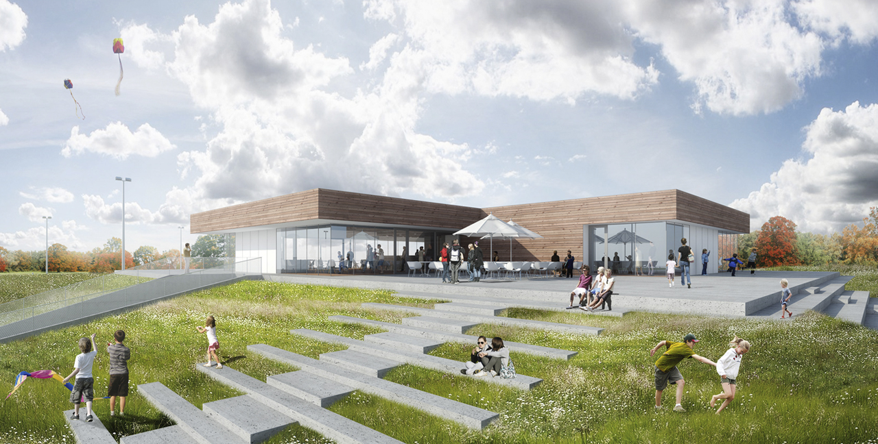 Multi Purpose Sports Facility Building Moederscheim