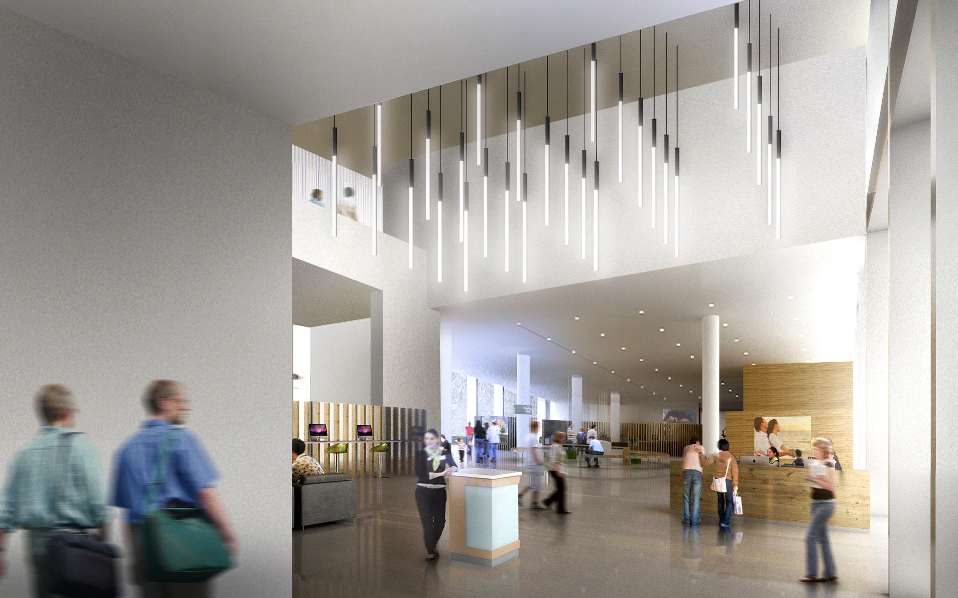 Public Service Hall Bcq Beta Architecture