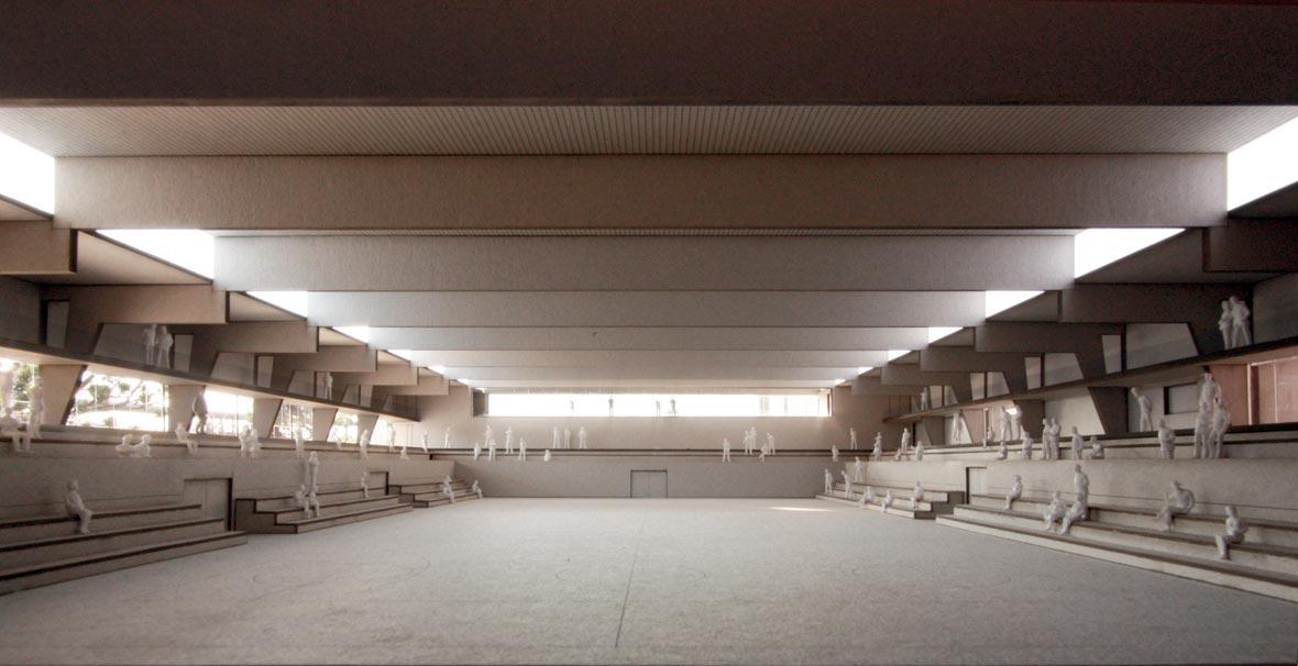 Sporthalle Schachen Aarau Pool Architekten Beta