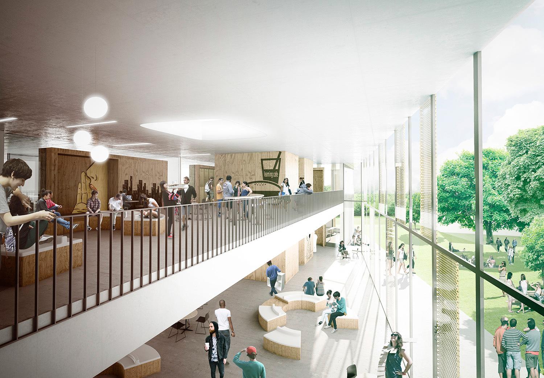 Herningsholm Vocational School Arkitektfirmaet C F