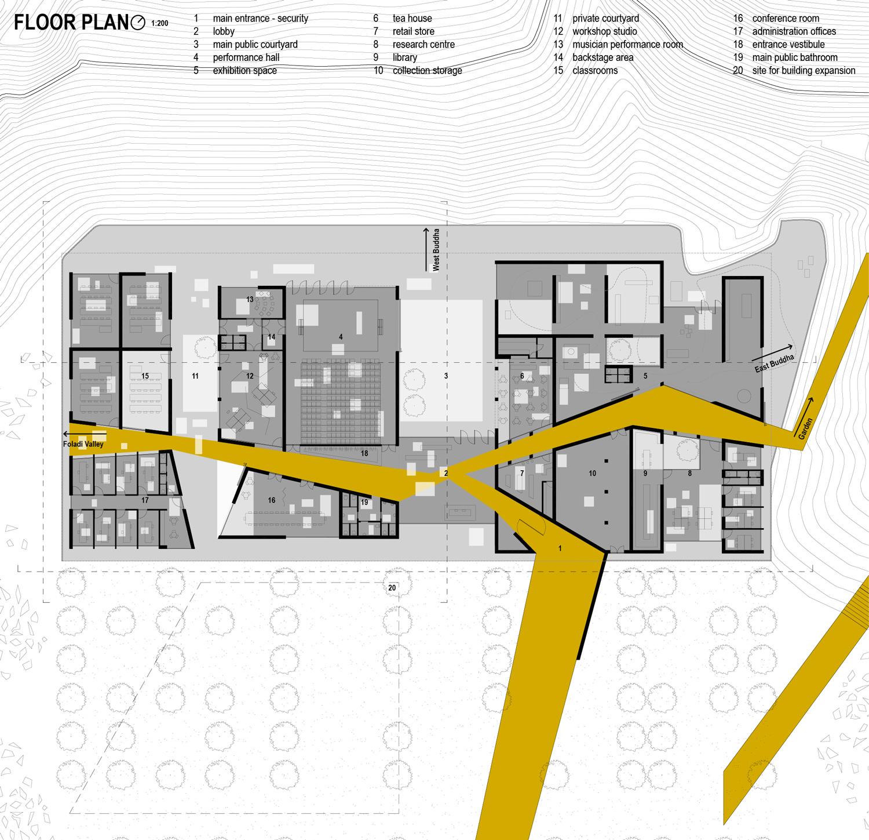 Helix Architecture Design Project Crossroads Parking: Bamiyan Cultural Center, Matthias Steen