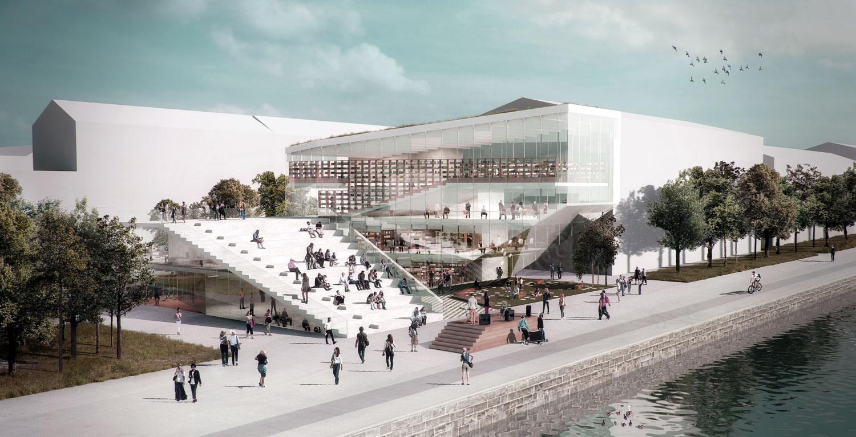 Copenhagen S New Modern Library Nathalie Eldan