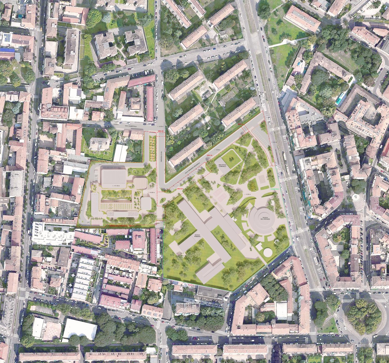 Studio Architettura Paesaggio Milano scuola pizzigoni, in nova studio « beta architecture